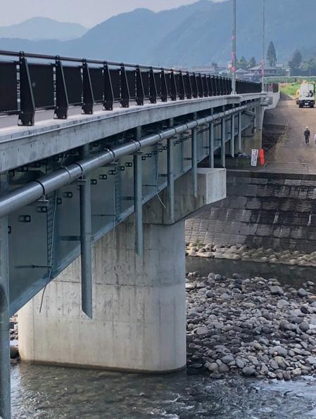 平成30年度 156号大和改良中津屋橋鋼上部工事