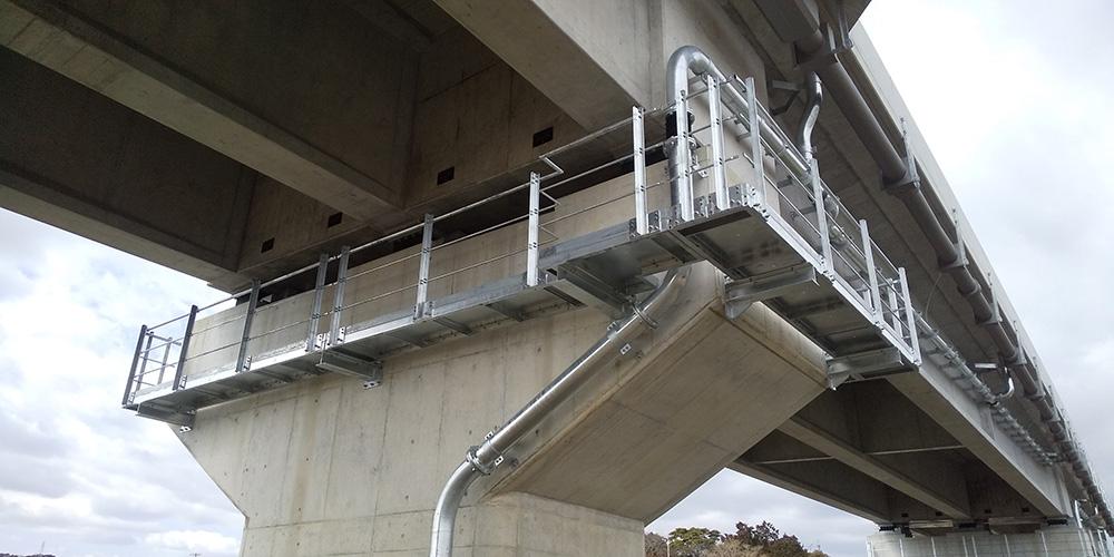 令和元年度 23号蒲郡BP広石第3橋PC上部工事